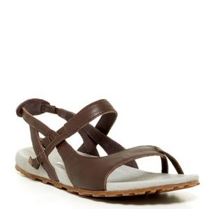 74f15dd2710 Patagonia Shoes - Patagonia Poli Knotty Brown Leather Sandals